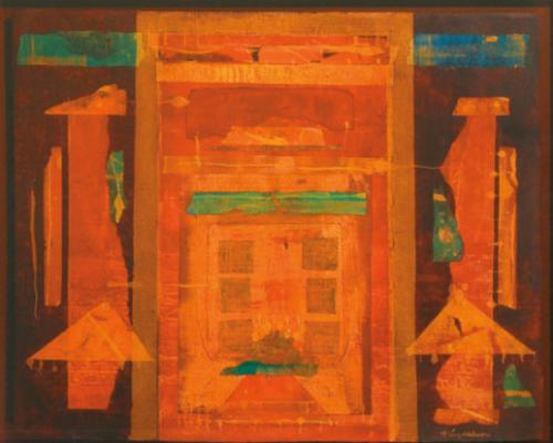 Puerta con cuatro elementos / 2006