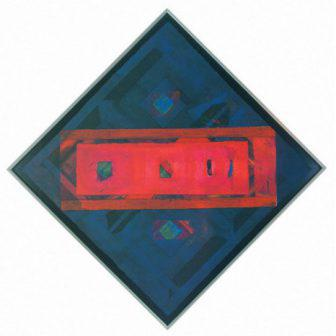 Espacio azul interrumpido / 2001