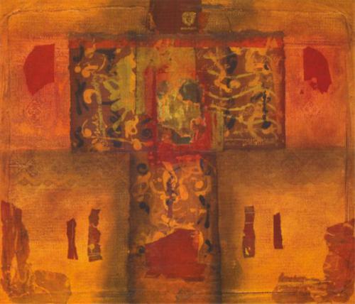 Mesa con pasaporte a Colombia / 2008